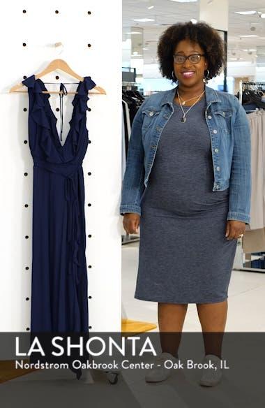 Alex Ruffle Maxi Dress, sales video thumbnail