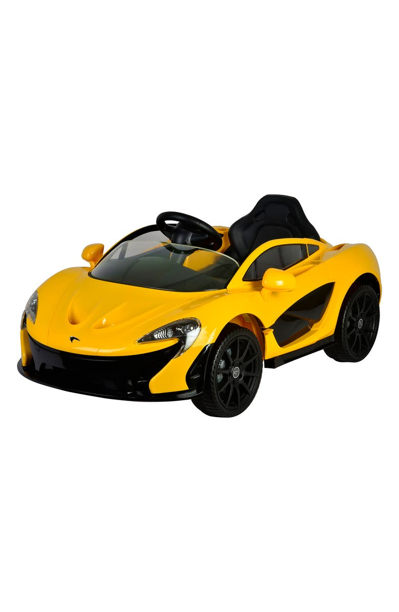 BEST RIDE ON CARS McLaren P1 12 Volt Ride-On Toy Car, Main, color, 700