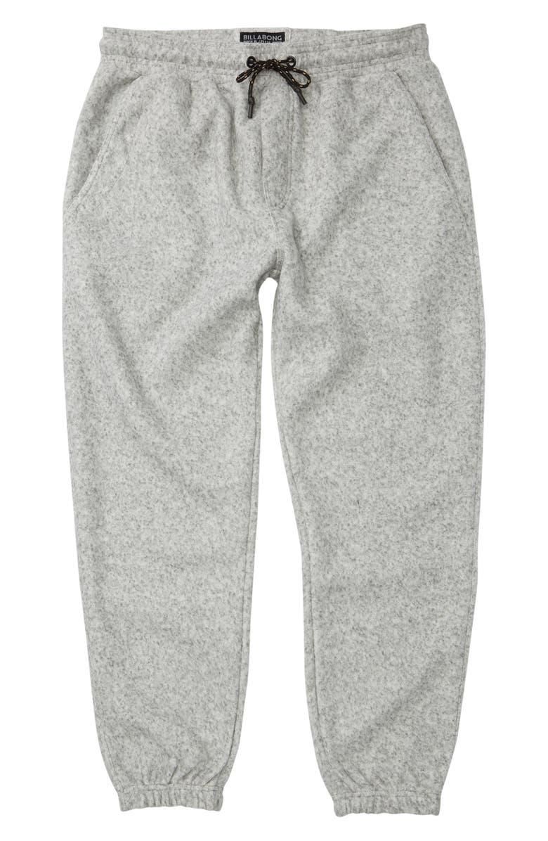 BILLABONG Boundary Sweatpants, Main, color, GREY HEATHER