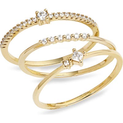 Nordstrom Itty Bitty Stacking Rings
