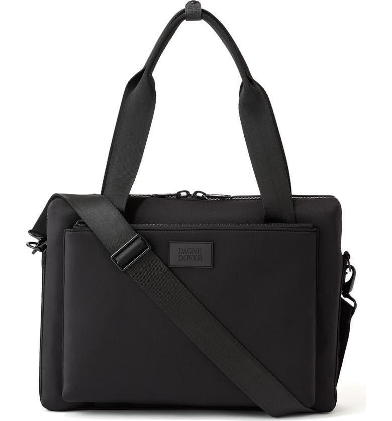DAGNE DOVER Large Ryan Neoprene Laptop Bag, Main, color, 001