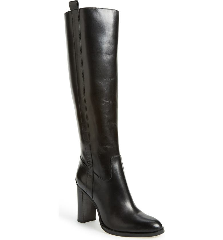MICHAEL MICHAEL KORS 'Shaw' Tall Boot, Main, color, 001