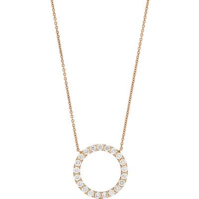 Bony Levy Diamond Circle Pendant Necklace (Nordstrom Exclusive)