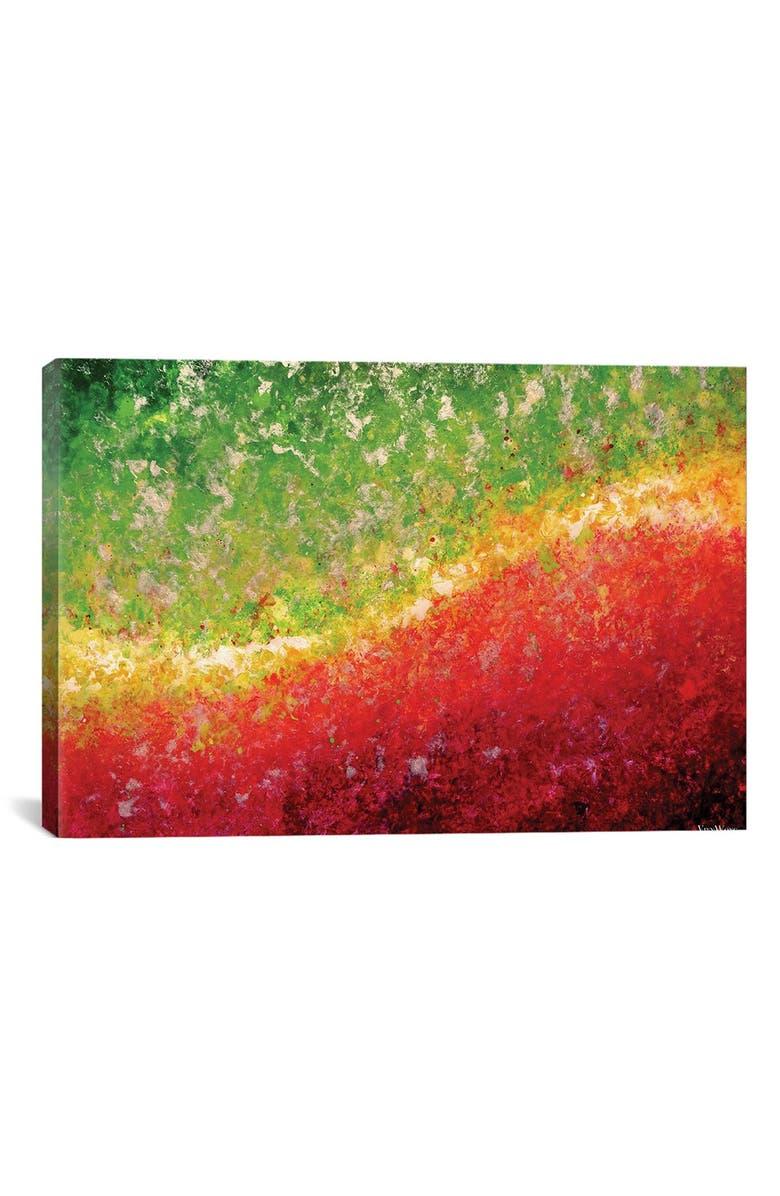 ICANVAS 'Equinox' Giclée Print Canvas Art, Main, color, GREEN