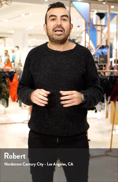 Gavin Long Sleeve Linen Shirtdress, sales video thumbnail