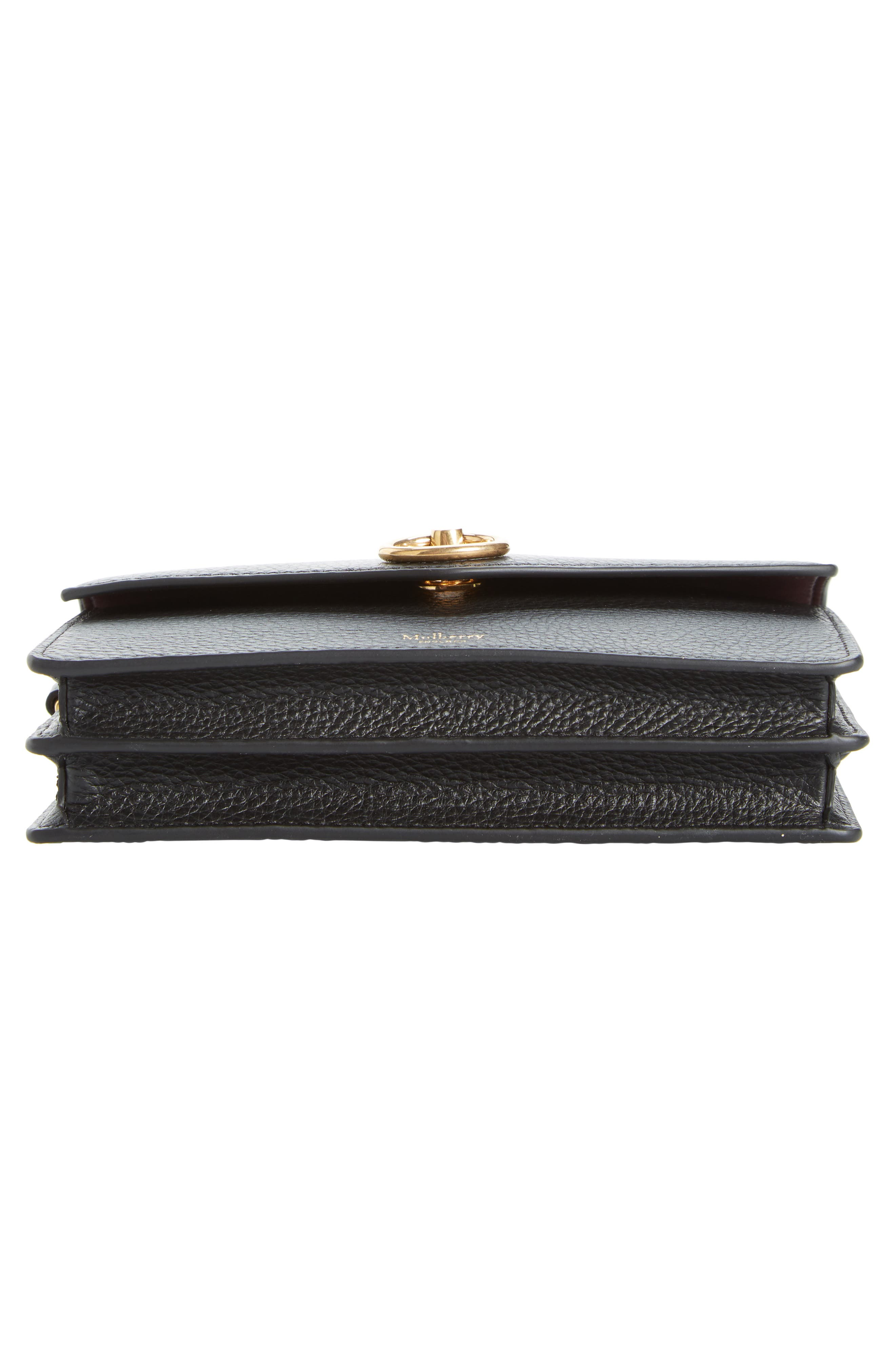 ,                             Amberley iPhone Leather Clutch,                             Alternate thumbnail 6, color,                             BLACK