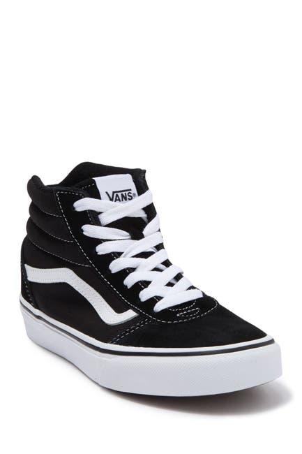 Image of VANS Sk8-Hi Suede & Canvas Sneaker