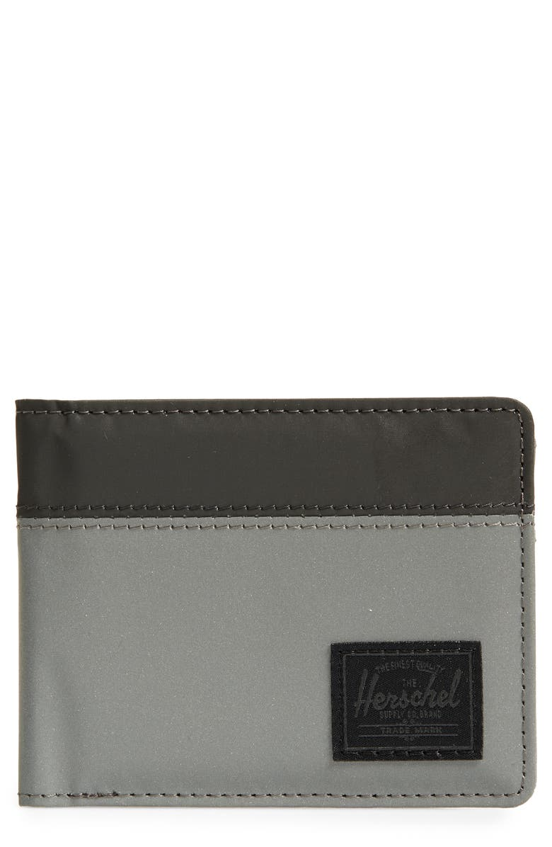 HERSCHEL SUPPLY CO. Roy RFID Wallet, Main, color, SILVER REFLECTIVE