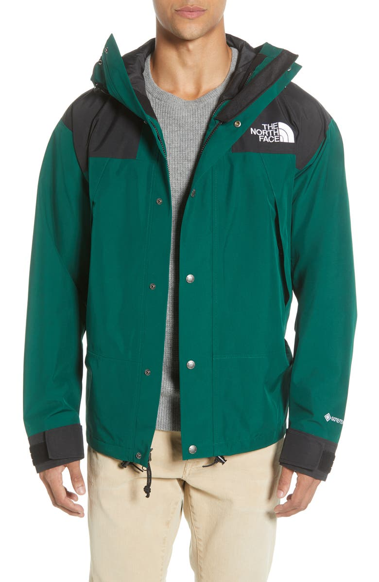 THE NORTH FACE 1990 Mountain Gore-Tex<sup>®</sup> II Waterproof Jacket, Main, color, NIGHT GREEN
