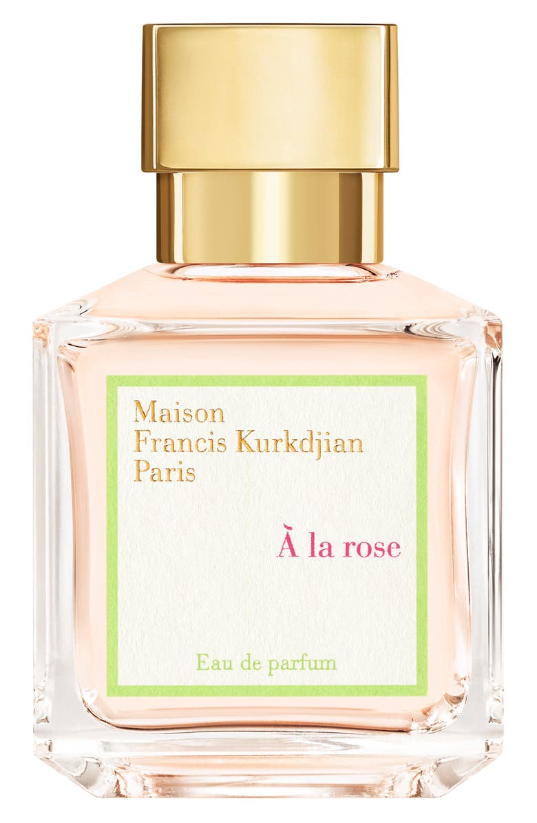 MAISON FRANCIS KURKDJIAN PARIS À La Rose Eau de Parfum, Main, color, NO COLOR