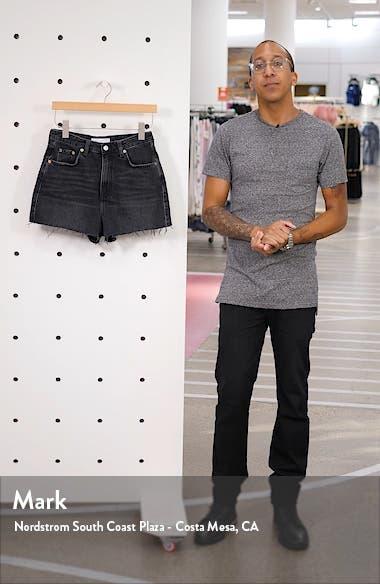 Denim Mom Shorts, sales video thumbnail