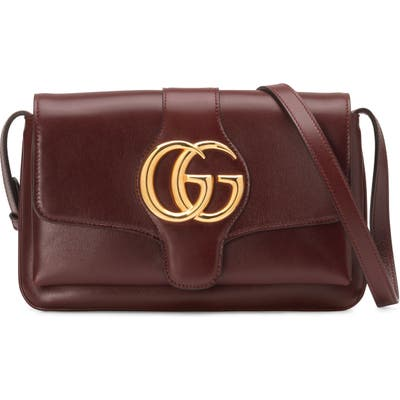 Gucci Small Convertible Shoulder Bag - Burgundy