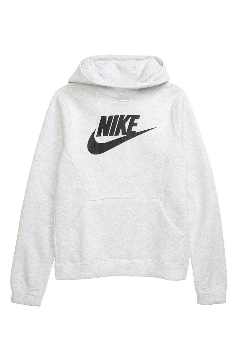 NIKE Sportswear Fleece Hoodie, Main, color, 051