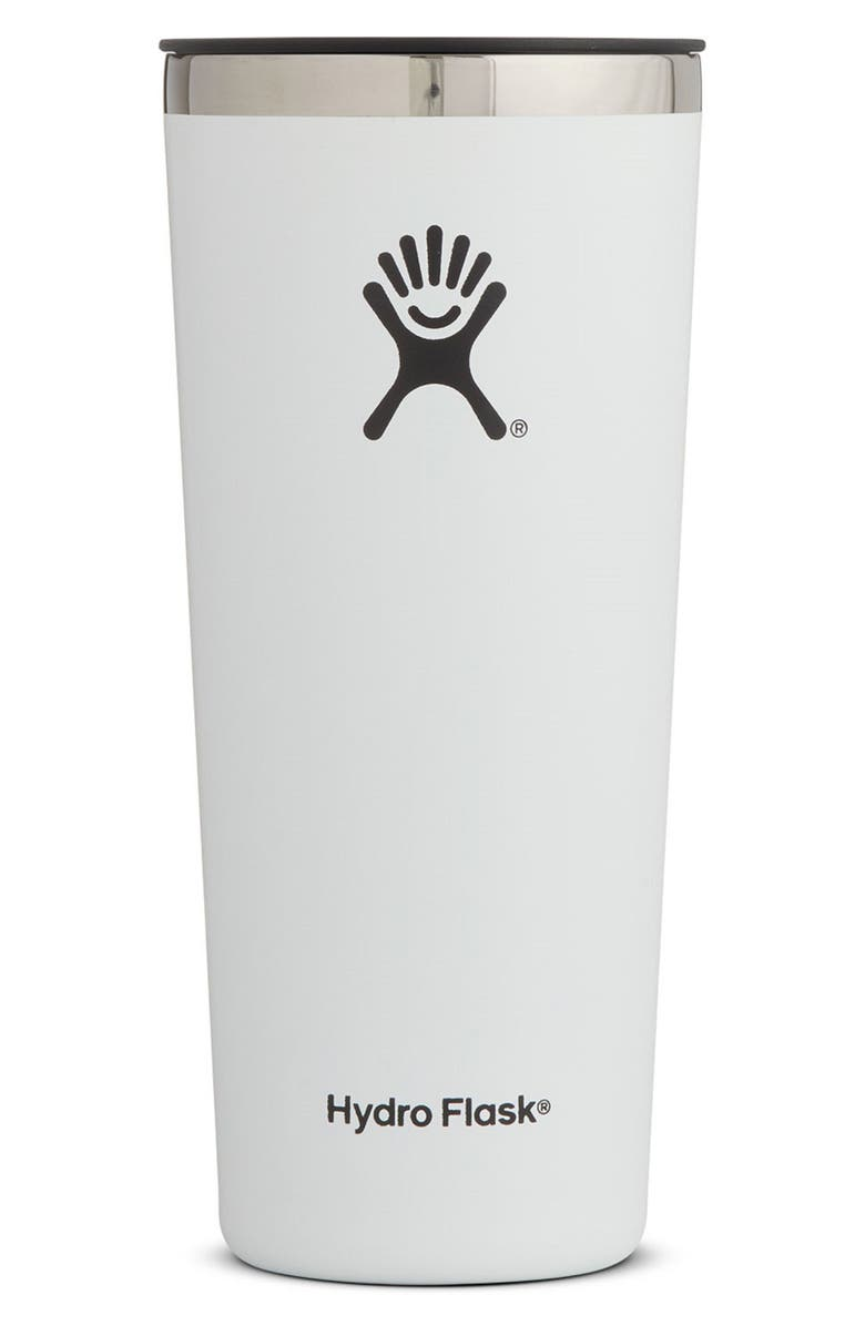 HYDRO FLASK 22-Ounce Tumbler, Main, color, WHITE