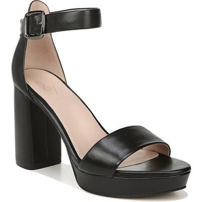 27 Edit Briar Platform Sandal- Black