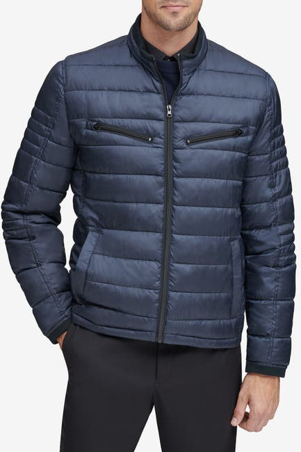 Image of Andrew Marc Grymes Packable Quilted Puffer Jacket