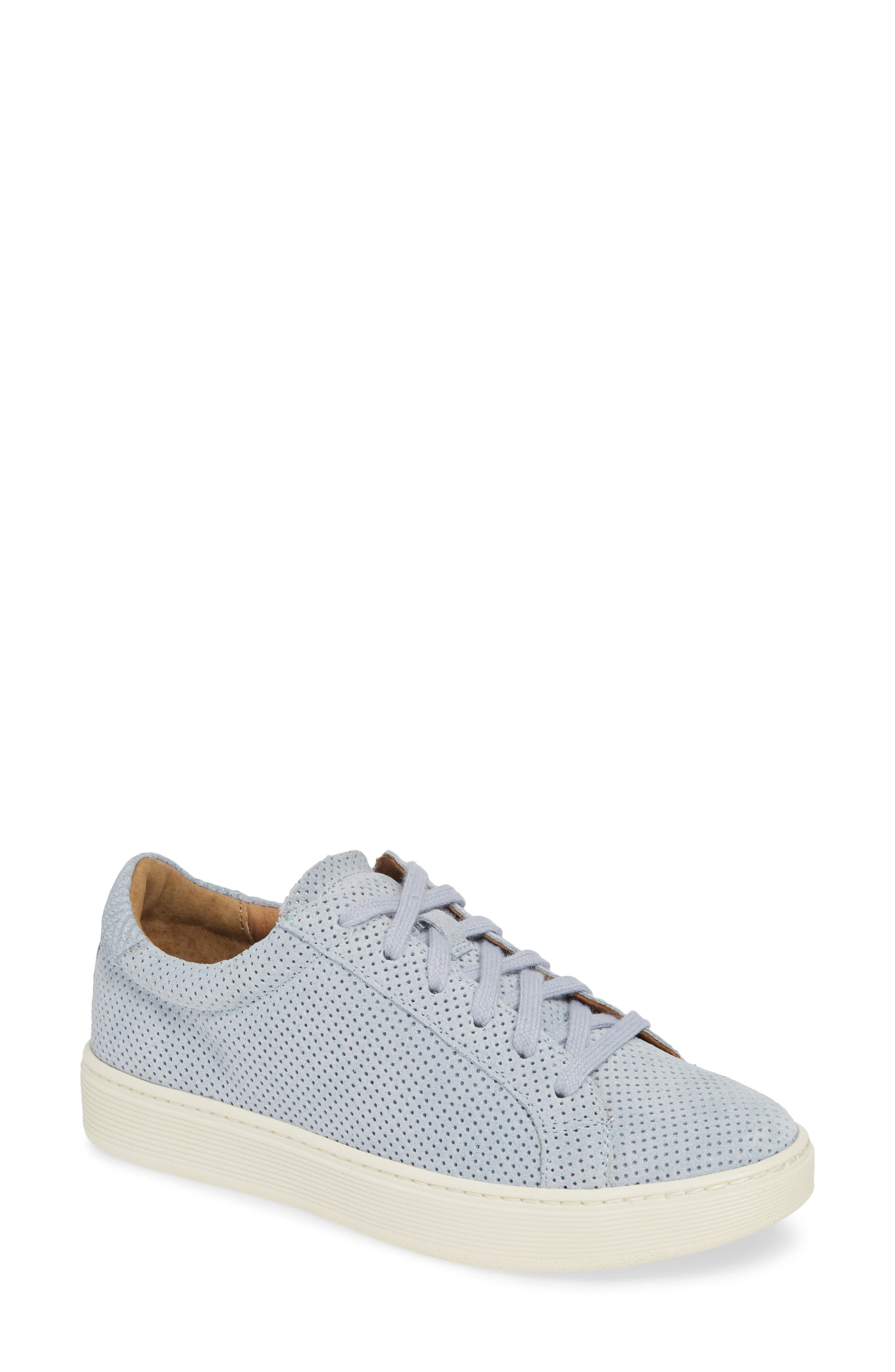 Sofft Somers Perforated Sneaker- Blue