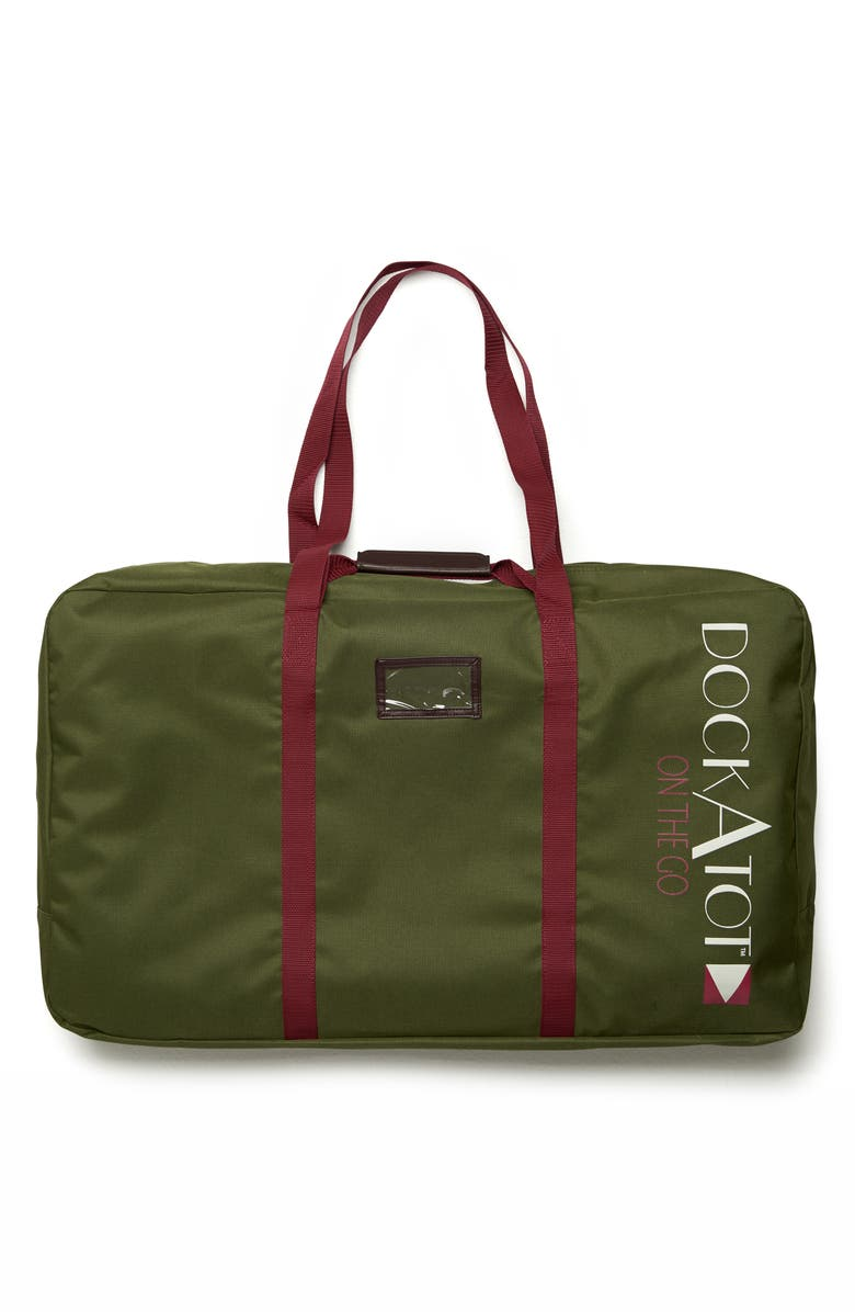 DOCKATOT Deluxe Transport Bag, Main, color, MOSS GREEN