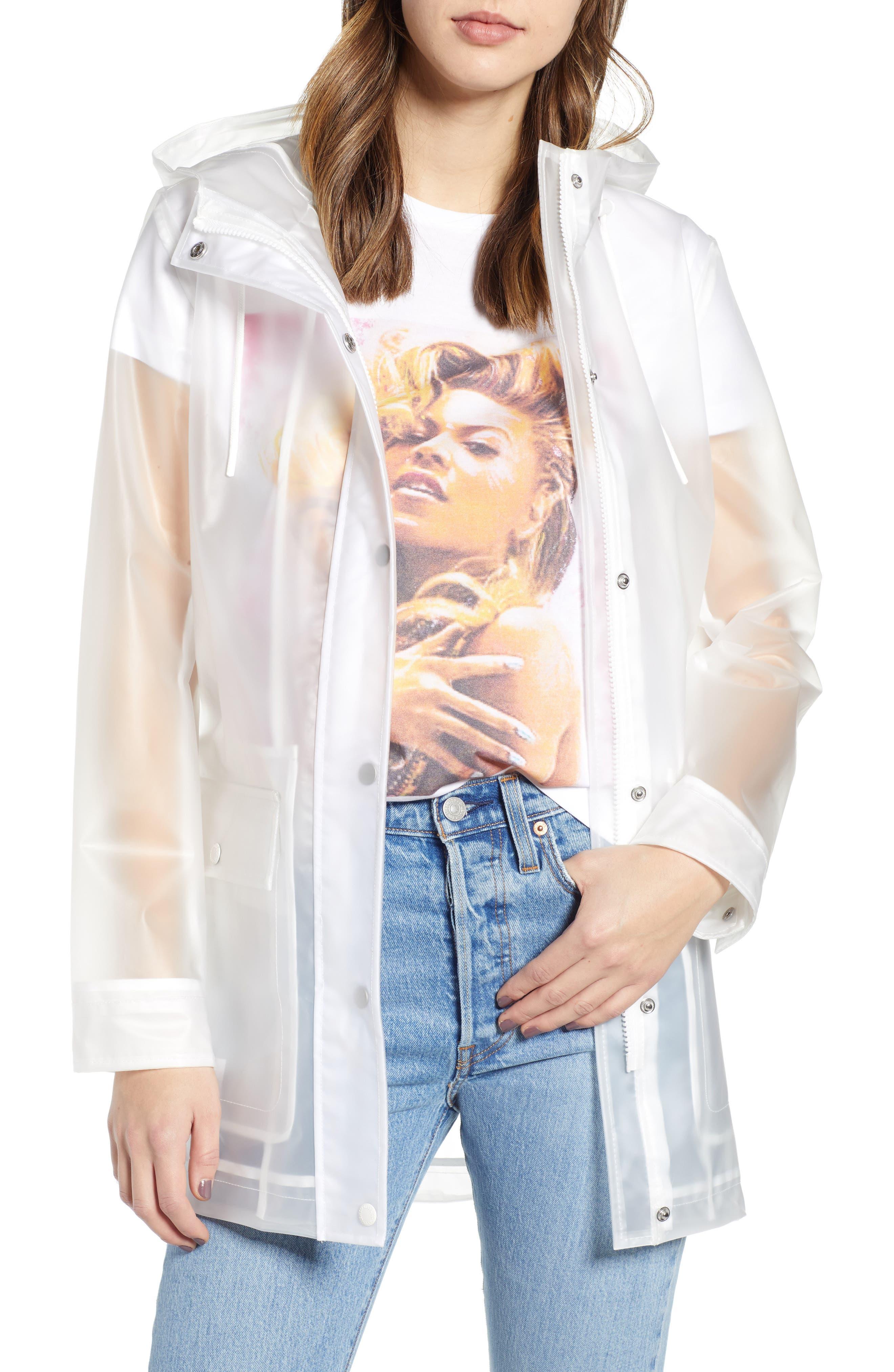 Hooded Rain Jacket, Main, color, 199