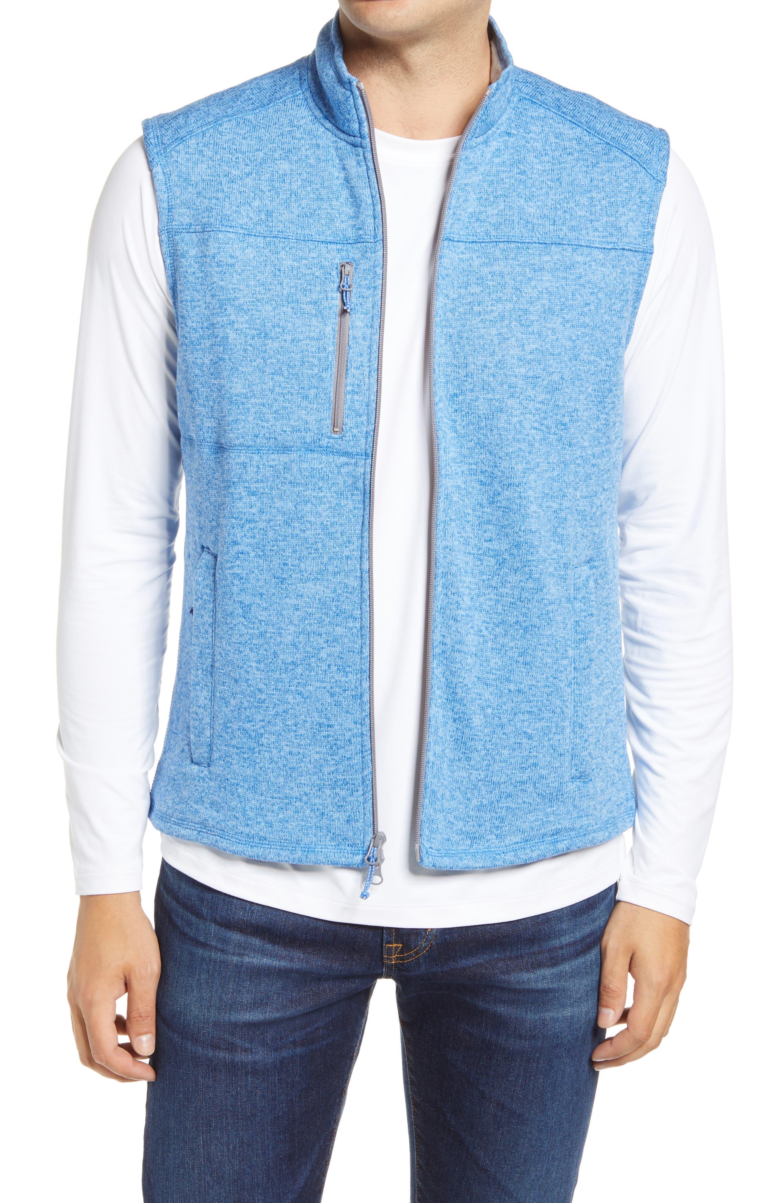 Wes Men's Water Resistant Knit Vest