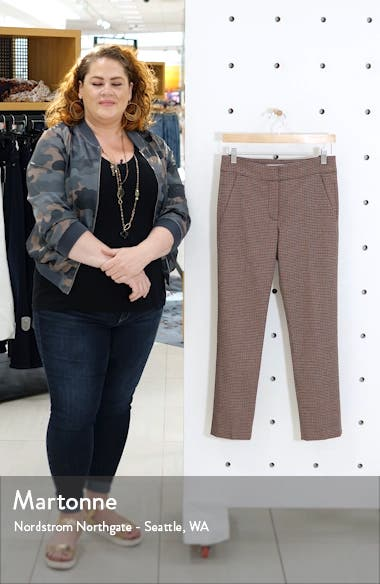 Gemini Check Crop Pants, sales video thumbnail