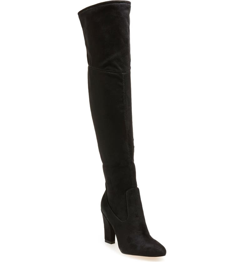 IVANKA TRUMP 'Sarena' Over the Knee Stretch Boot, Main, color, 001