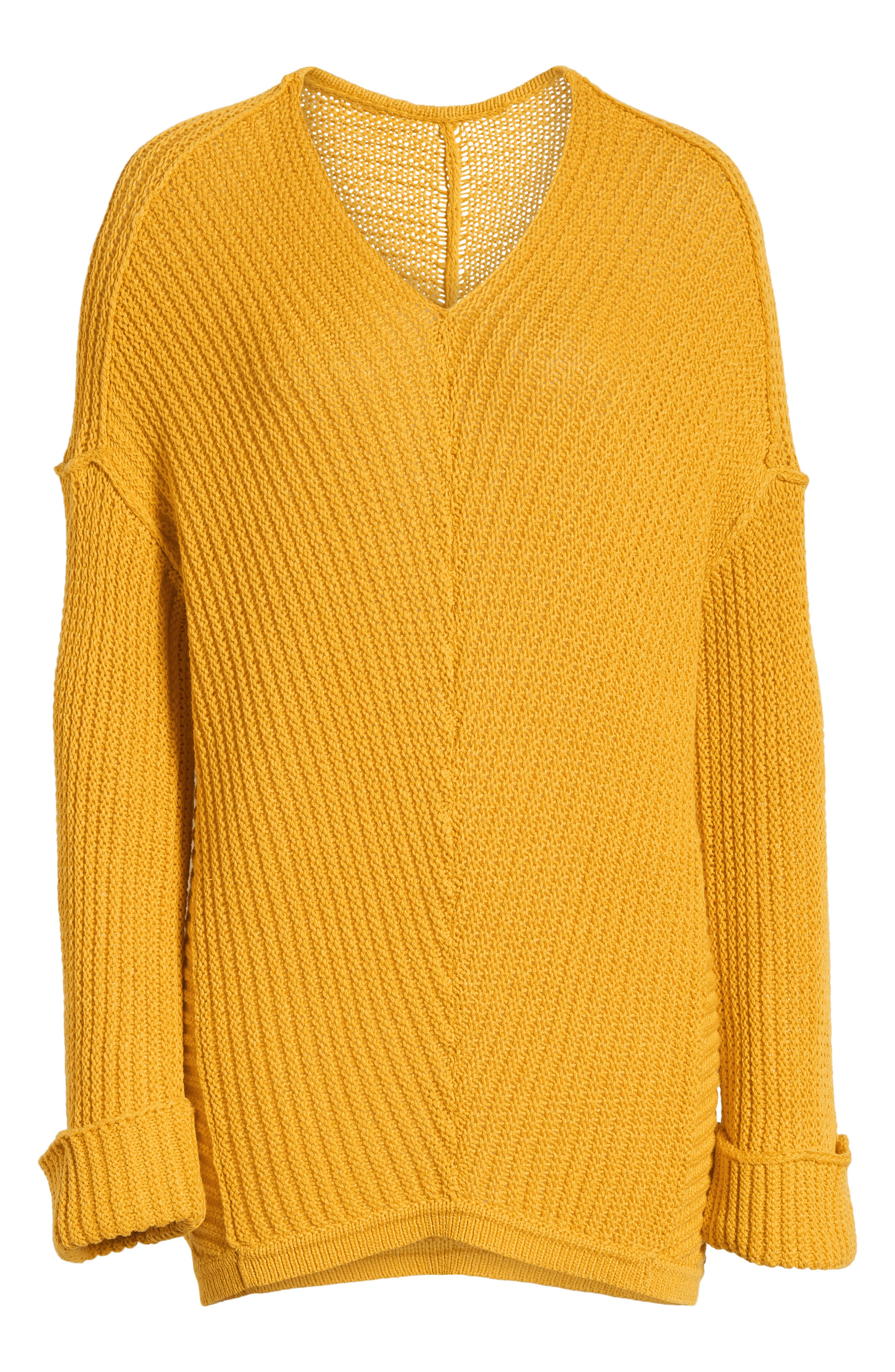 ,                             Cuffed Sleeve Sweater,                             Alternate thumbnail 36, color,                             720