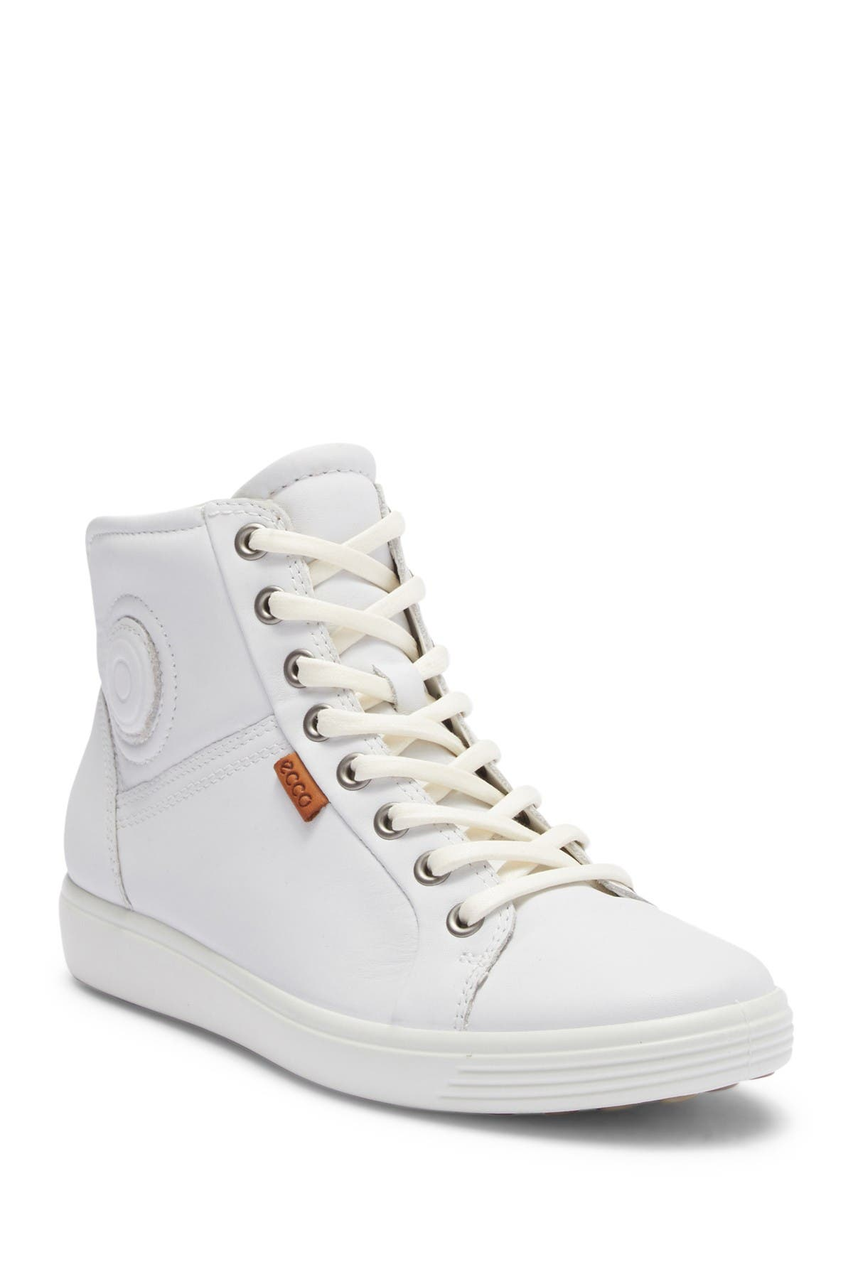 ECCO | Soft 7 Leather Mid Sneaker