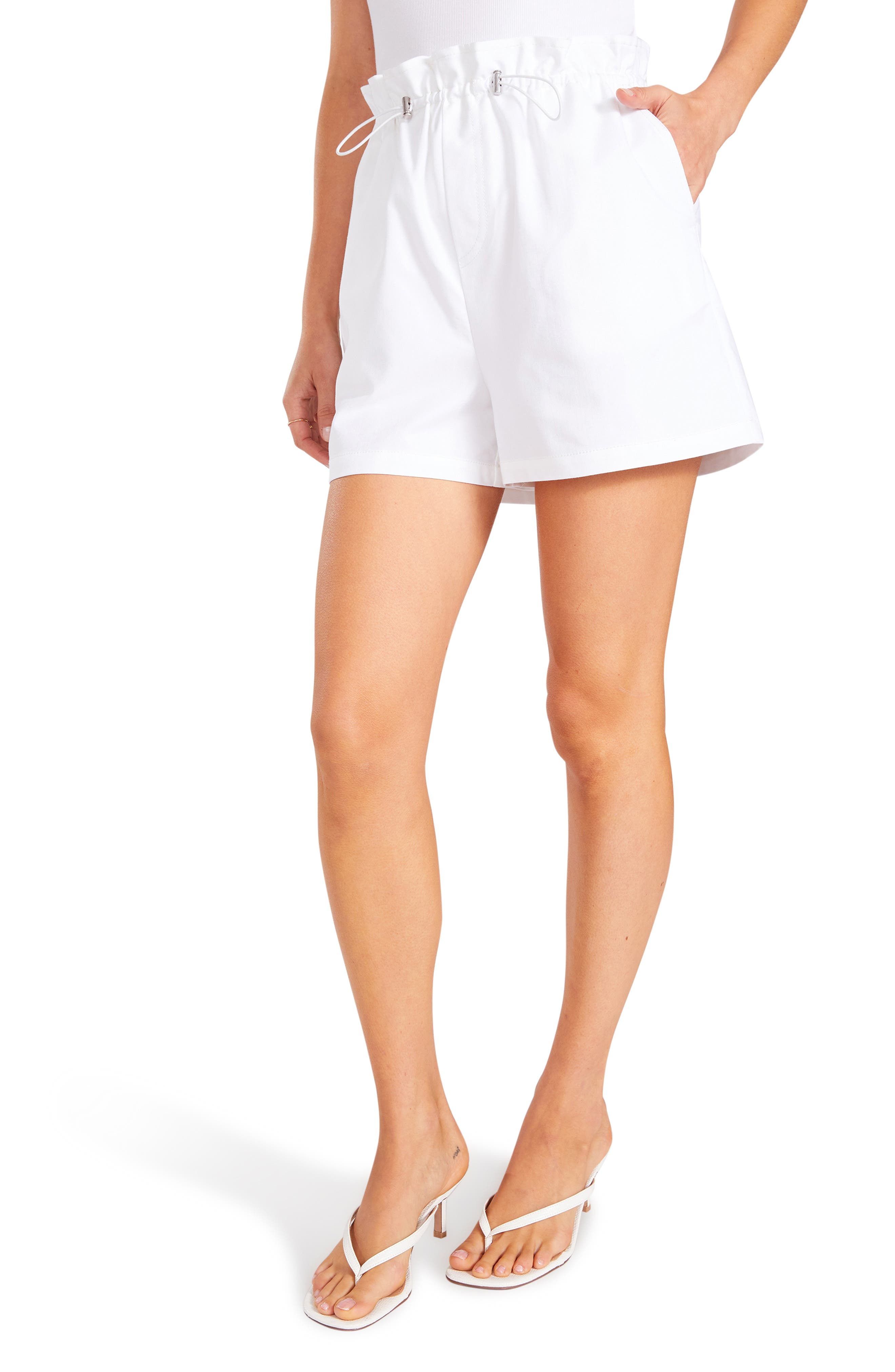 Rip Service Paperbag Waist Shorts