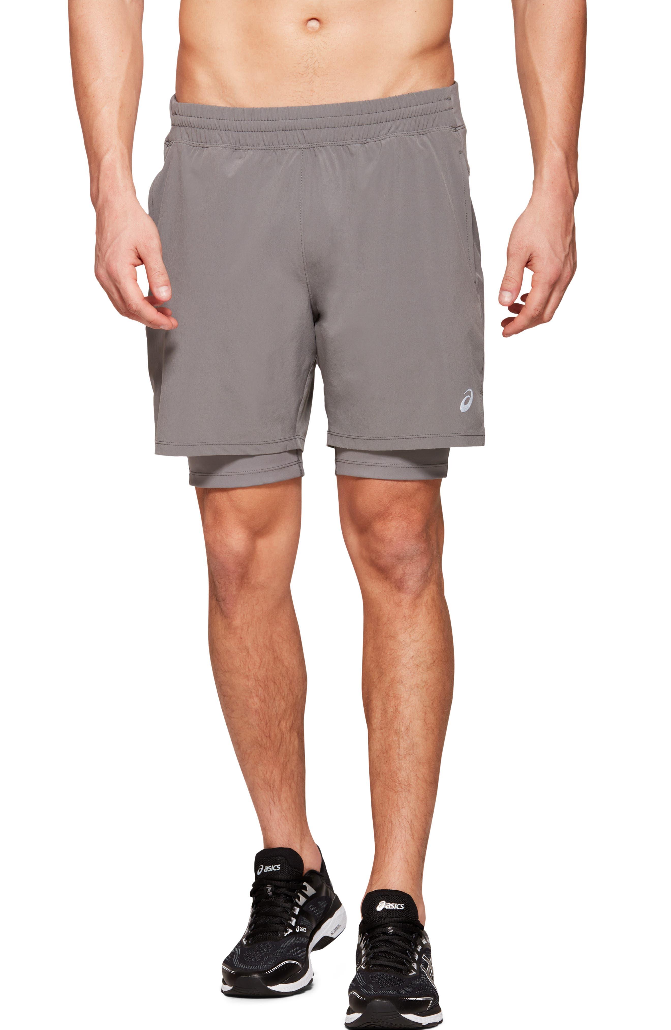 Men's Asics Fietro 2-In-1 Shorts