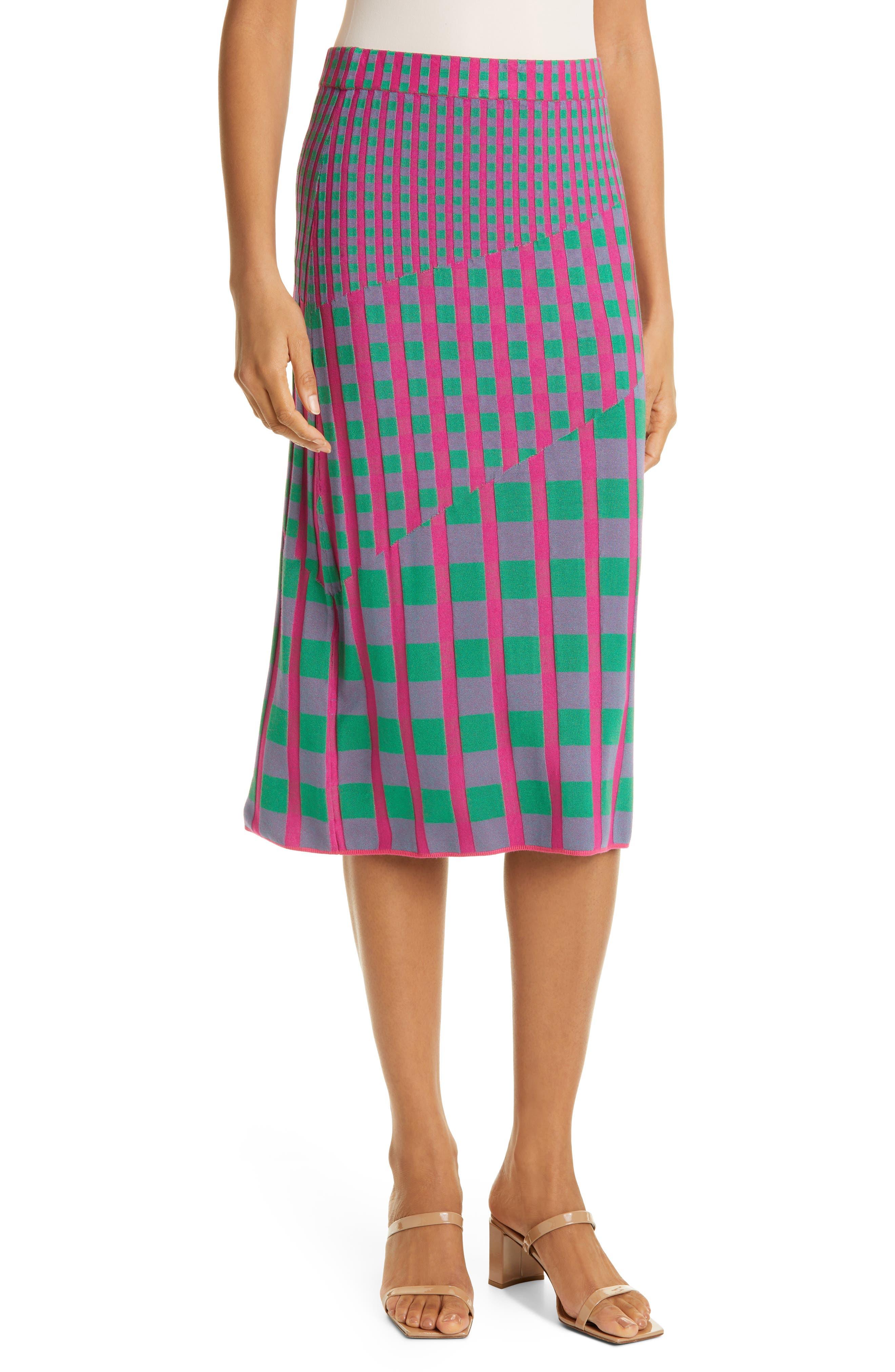 Rosa Ribbed Knit Skirt