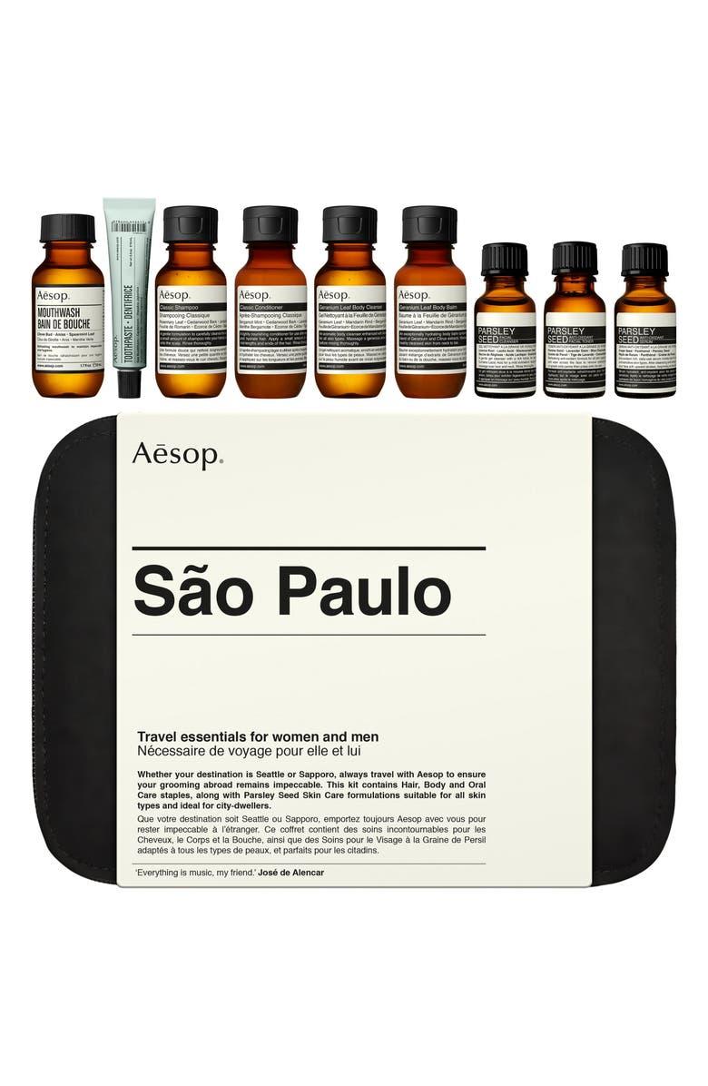 AESOP São Paulo City Kit, Main, color, NO COLOR