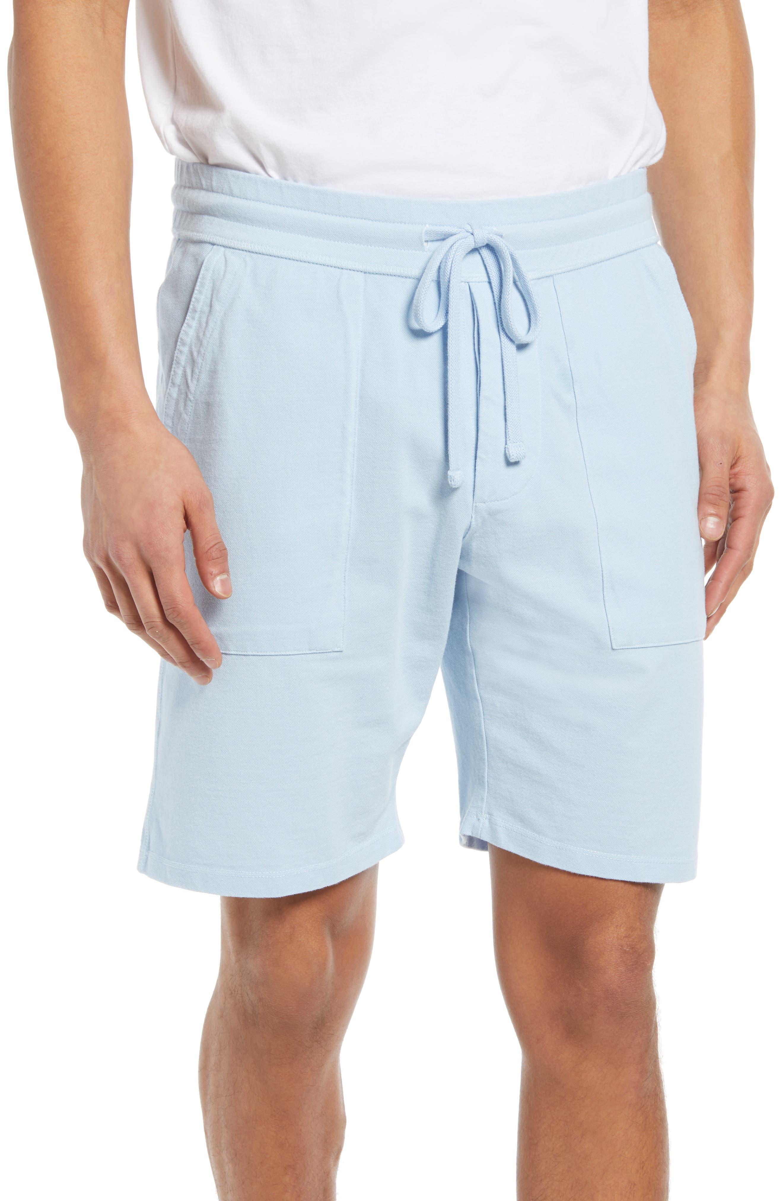 Stretch Pique Cotton Shorts