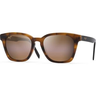 Maui Jim Shave Ice 52mm Polarized Sunglasses - Tortoise