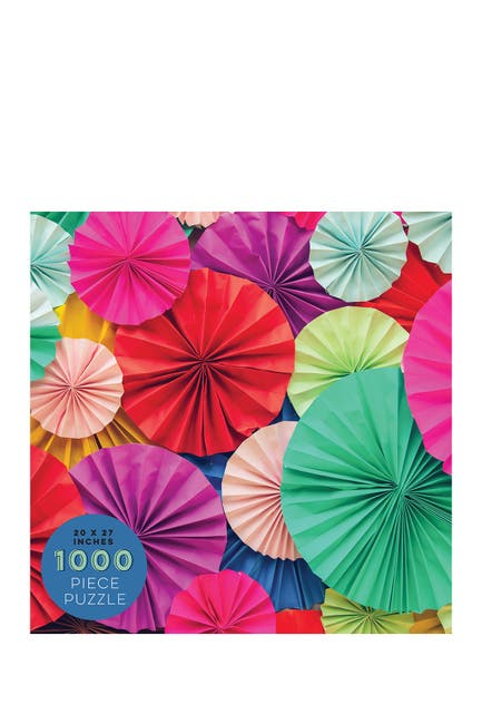 Image of TF Publishing 1000 Piece Paper Blooms Jigsaw Puzzle