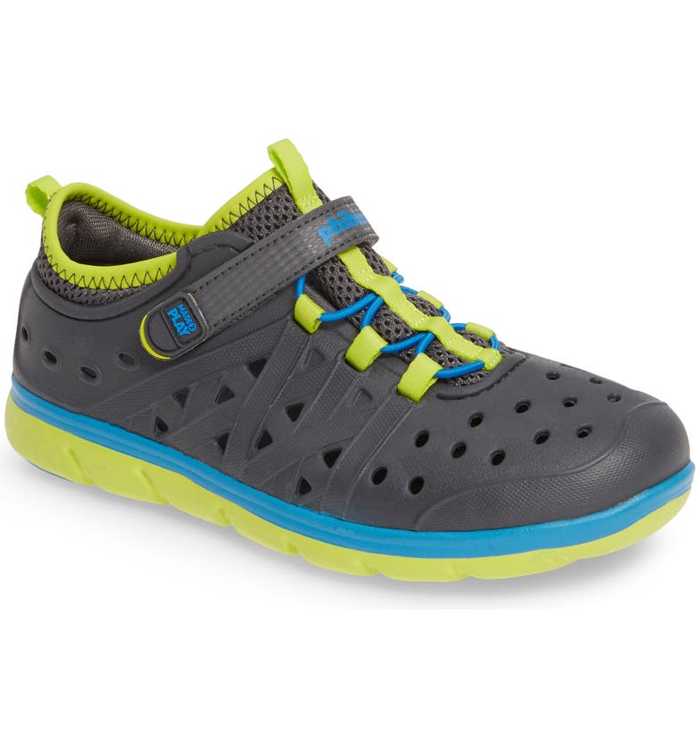 STRIDE RITE Made2Play<sup>®</sup> Phibian Sneaker, Main, color, GREY