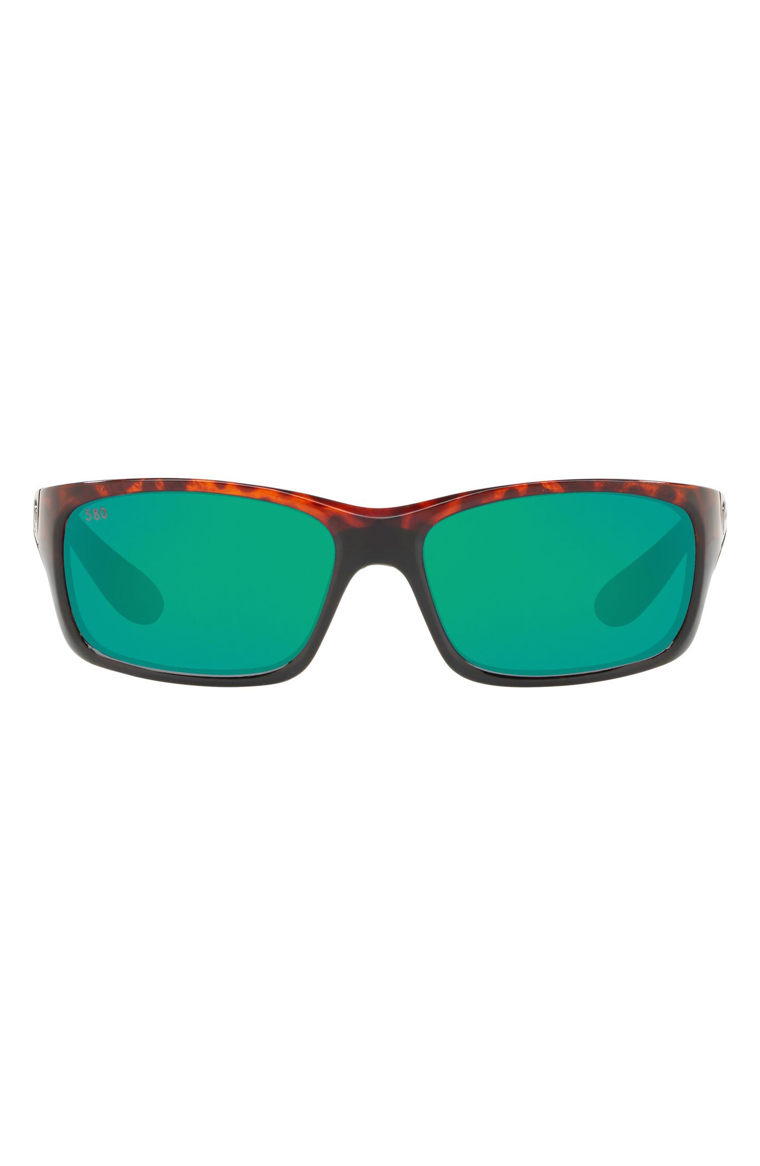 62mm Waypoint Rectangluar Polaraized Sunglasses
