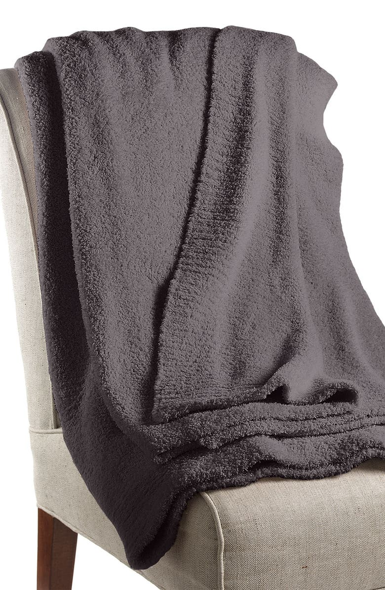 BAREFOOT DREAMS<SUP>®</SUP> 'CozyChic<sup>®</sup>' Ribbed Blanket, Main, color, 020