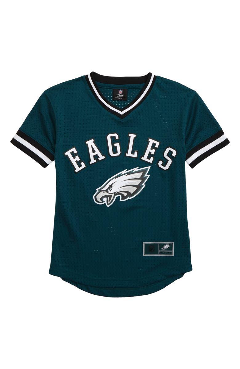 OUTERSTUFF NFL Logo Philadelphia Eagles Mesh Jersey, Main, color, SPORT TEAL