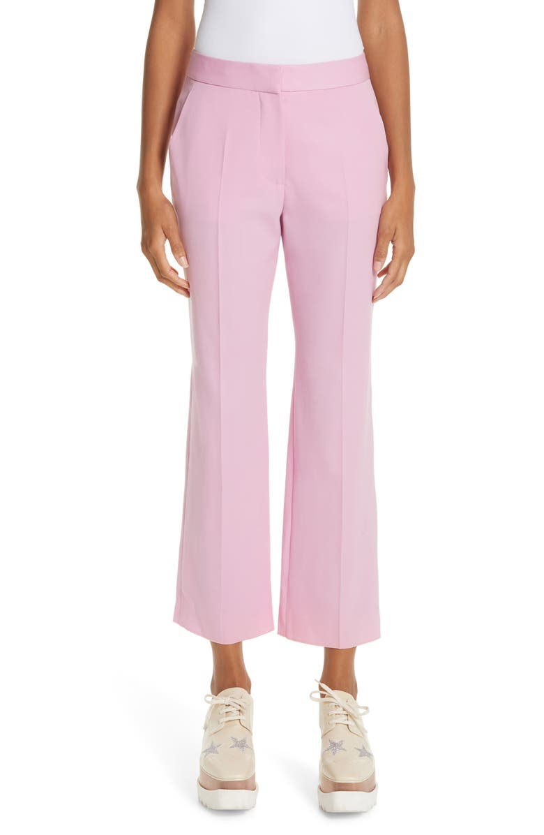 STELLA MCCARTNEY Wool Ankle Pants, Main, color, 650