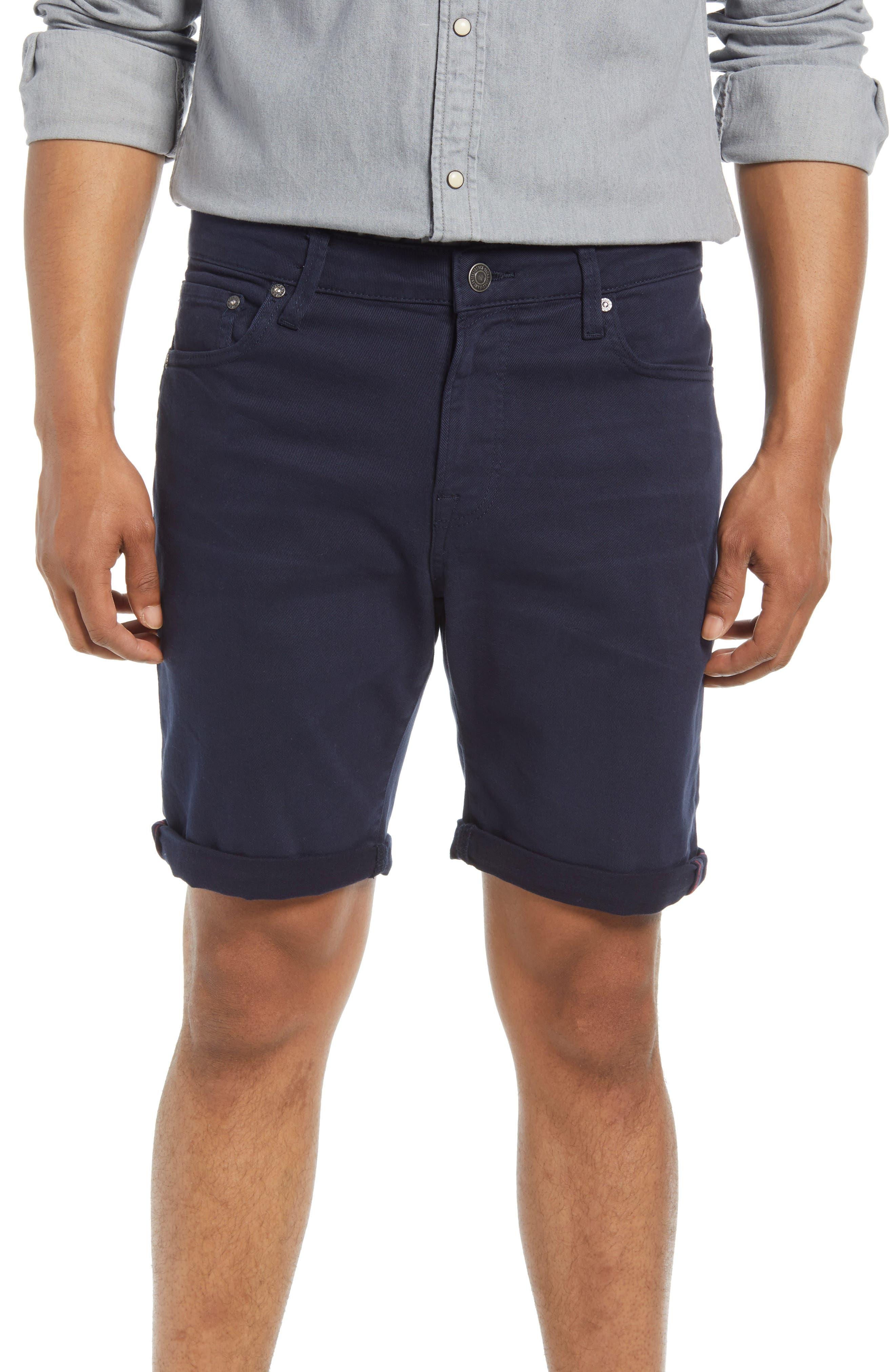 Men's Rick Icon Stretch Denim Shorts