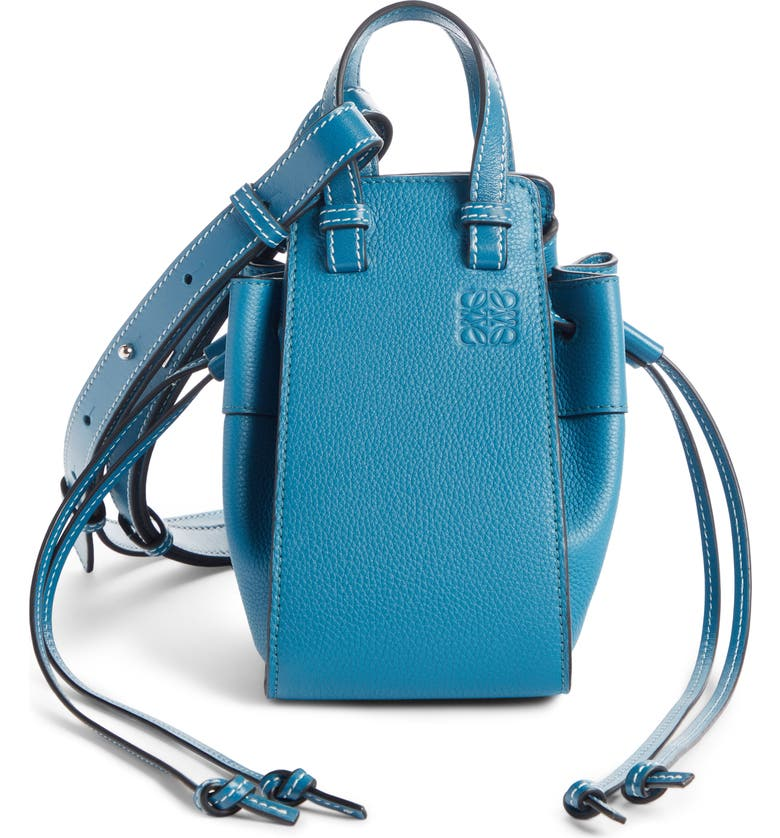 LOEWE Hammock Mini Leather Hobo, Main, color, 400