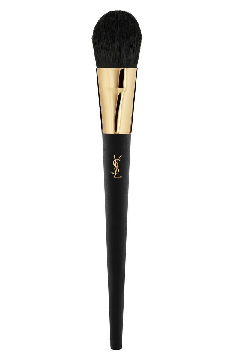 YVES SAINT LAURENT 01 Foundation Brush, Main, color, NO COLOR