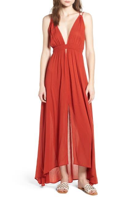 Image of ASTR the Label Gauze Crinkle Maxi Dress