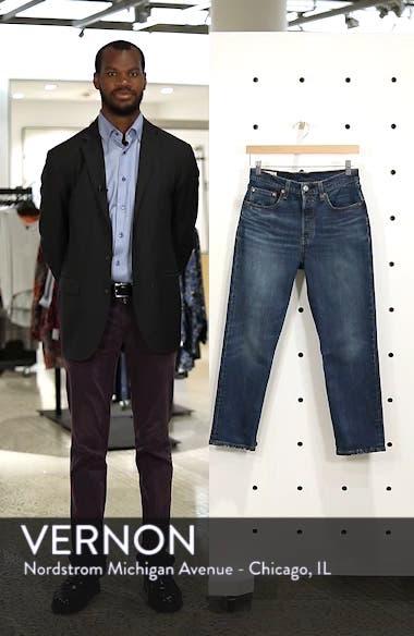 501<sup>®</sup> High Waist Crop Jeans, sales video thumbnail