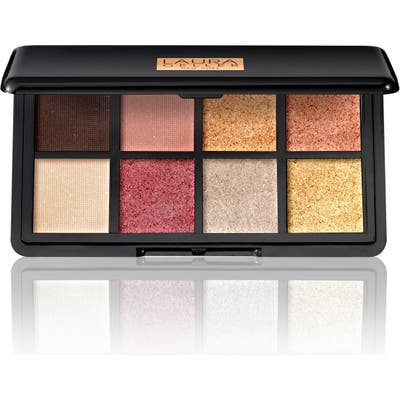 Laura Geller Beauty Luxe Finishes Eyeshadow Palette - The Warms