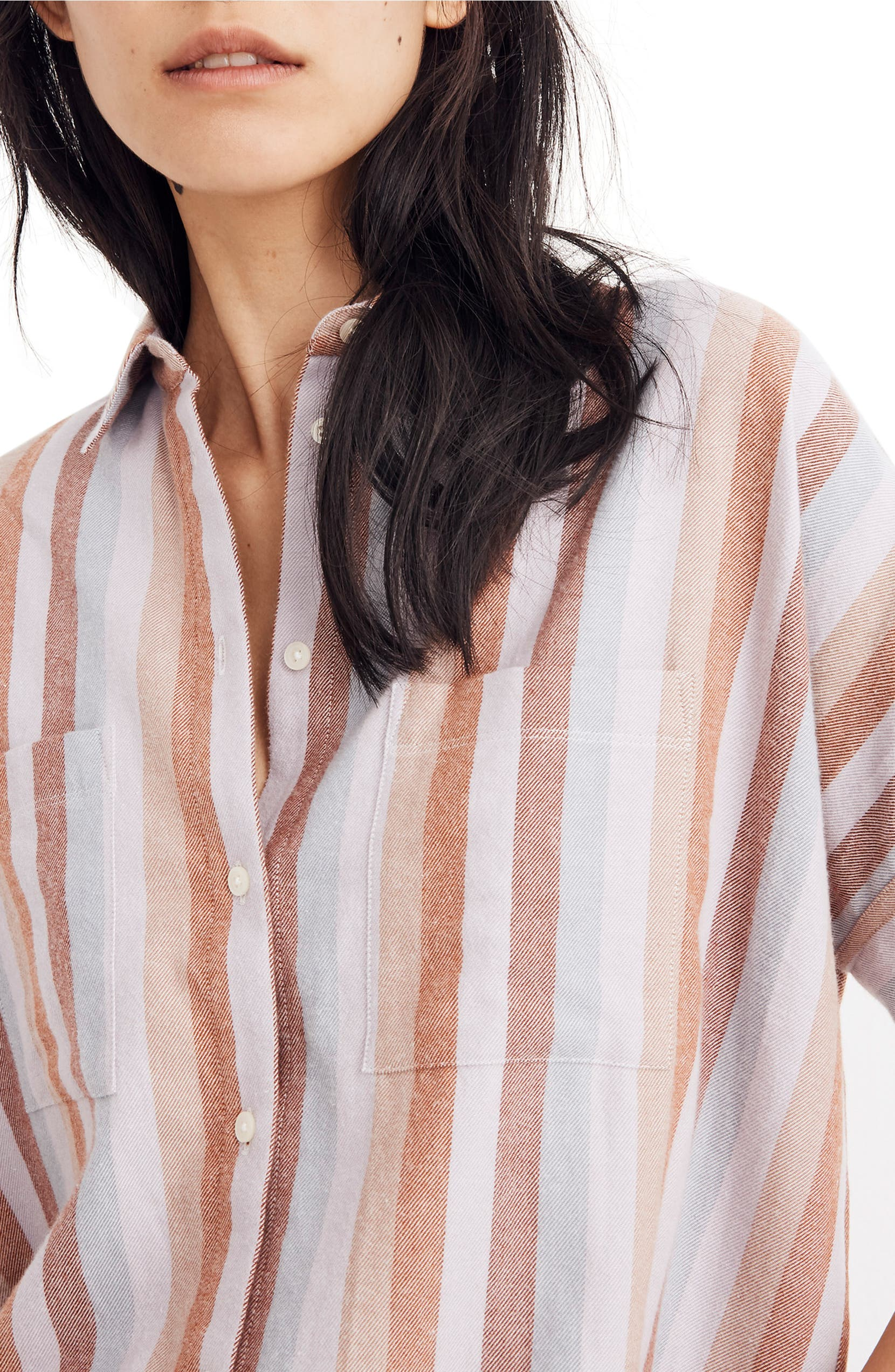 d6b44006 Madewell Flannel Courier Shirt (Regular & Plus Size) | Nordstrom