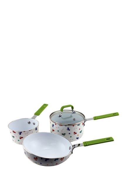 Image of BergHOFF Children Line Boys 4-Piece Cookware Set