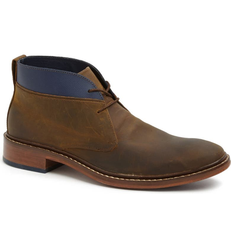 COLE HAAN 'Colton' Chukka Boot, Main, color, COPPER/ PEACOAT LEATHER