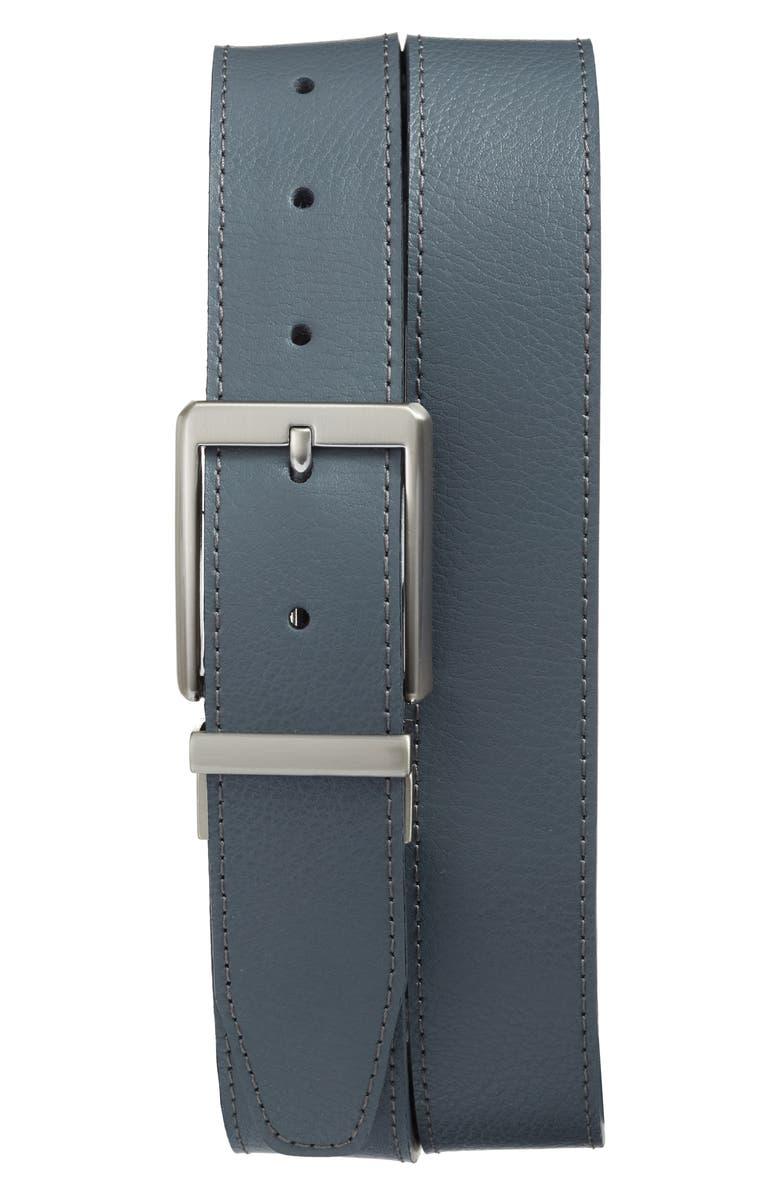 NIKE Core Reversible Leather Belt, Main, color, 065
